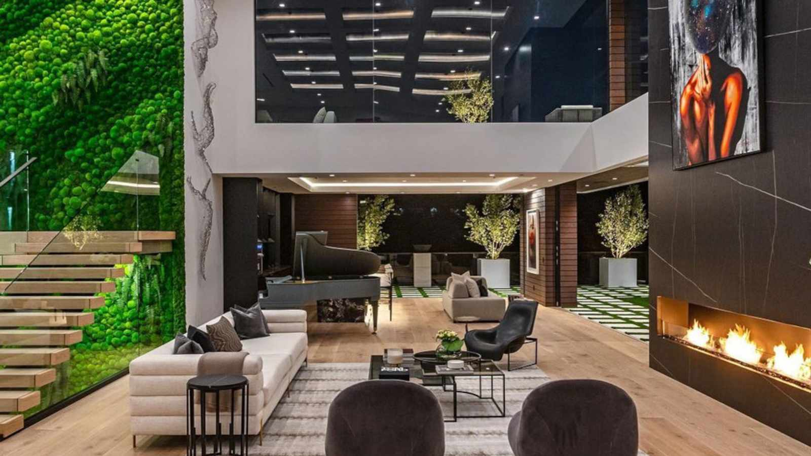 WATCH: Inside A $43M (R613M) Private Resort Mansion With A Car Showroom