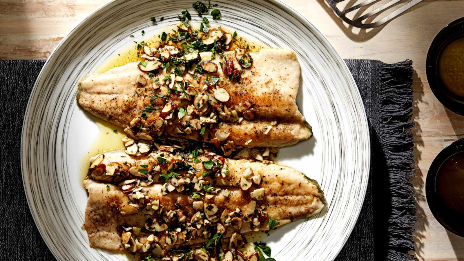 Deceptively easy, elegant trout amandine really does come together in less than 30 minutes