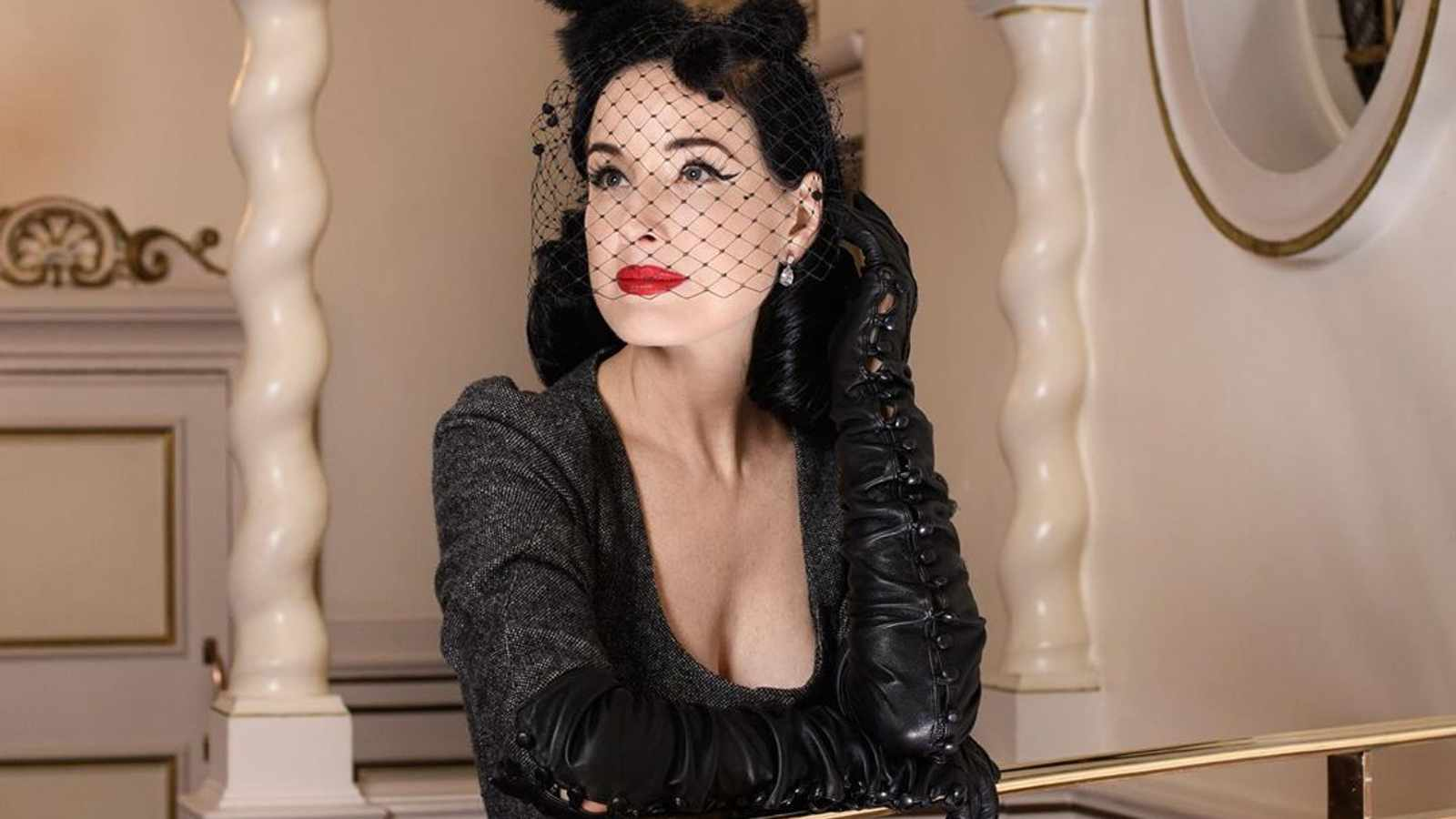 Inside Dita Von Teese's Taxidermy-Filled Home