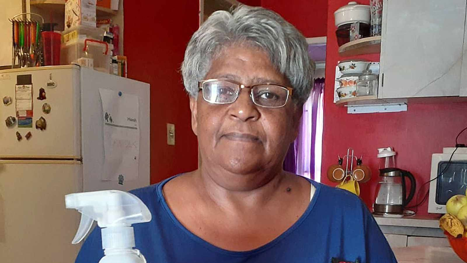 WATCH: Ouma charged R403 for hand sanitiser