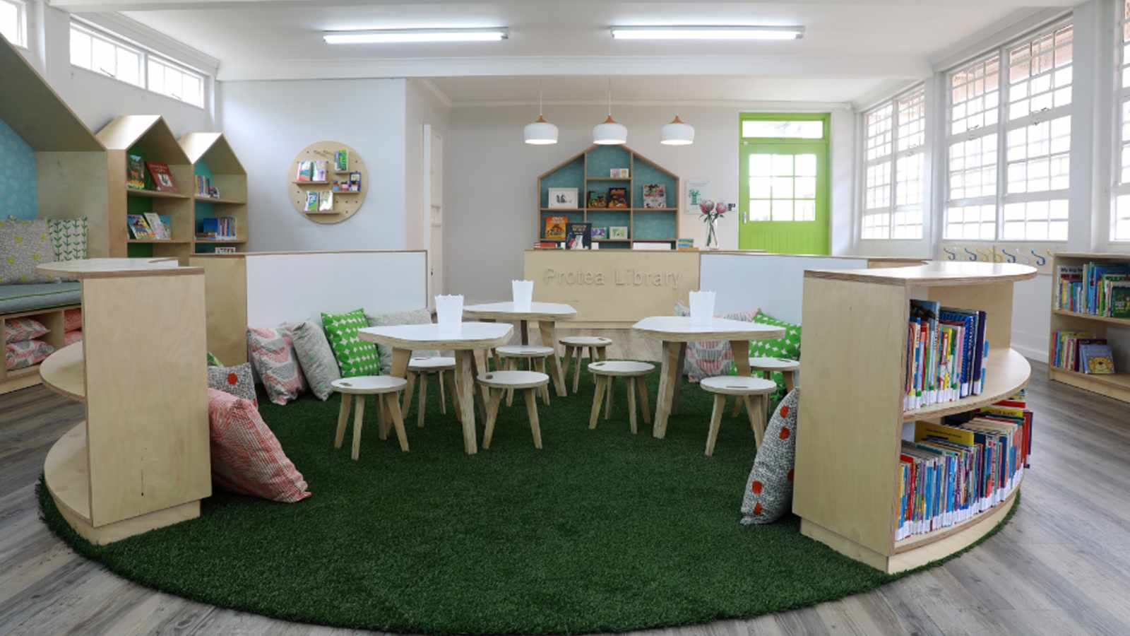 Kids excited at launch of new Walmer Estate library