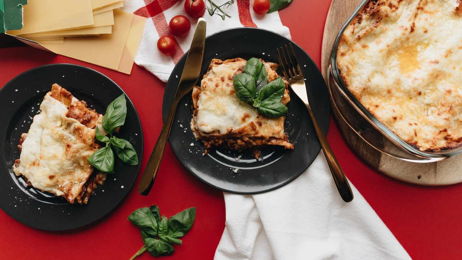 A sophisticated lasagne recipe