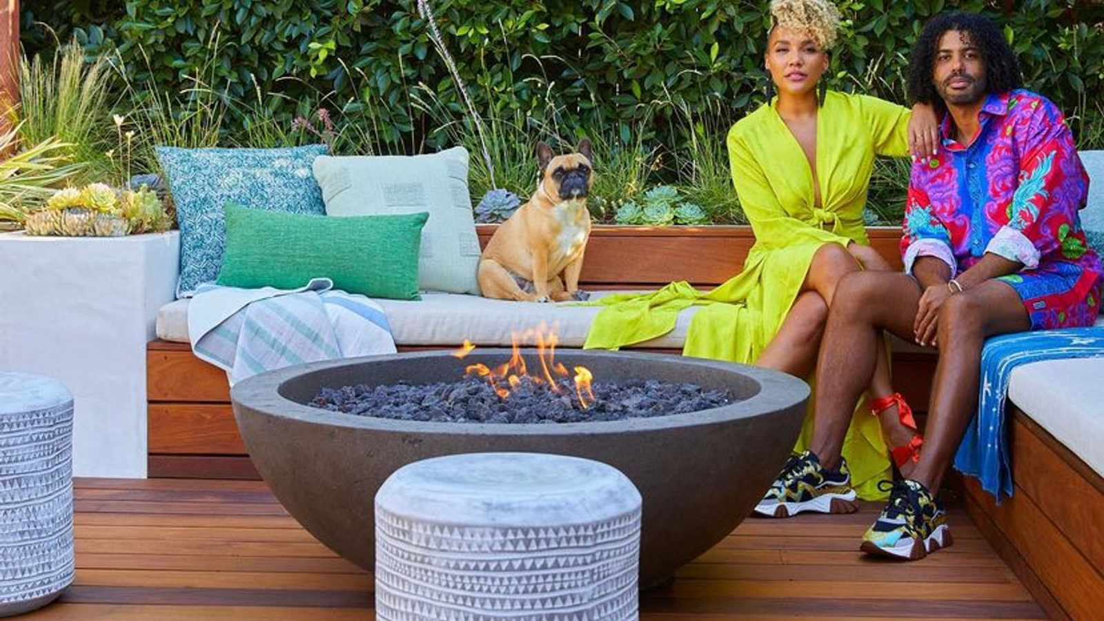 Inside 'Hamilton' Stars Daveed Diggs and Emmy Raver-Lampman's L.A. Home