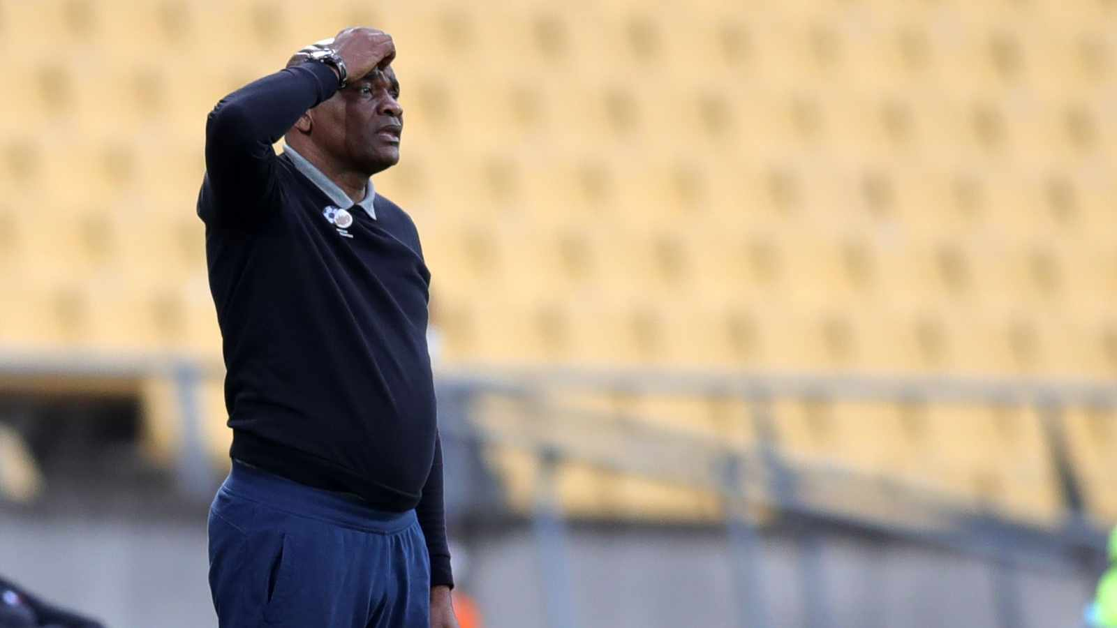 Fans say Ntsek! Bafana supporters want coach out