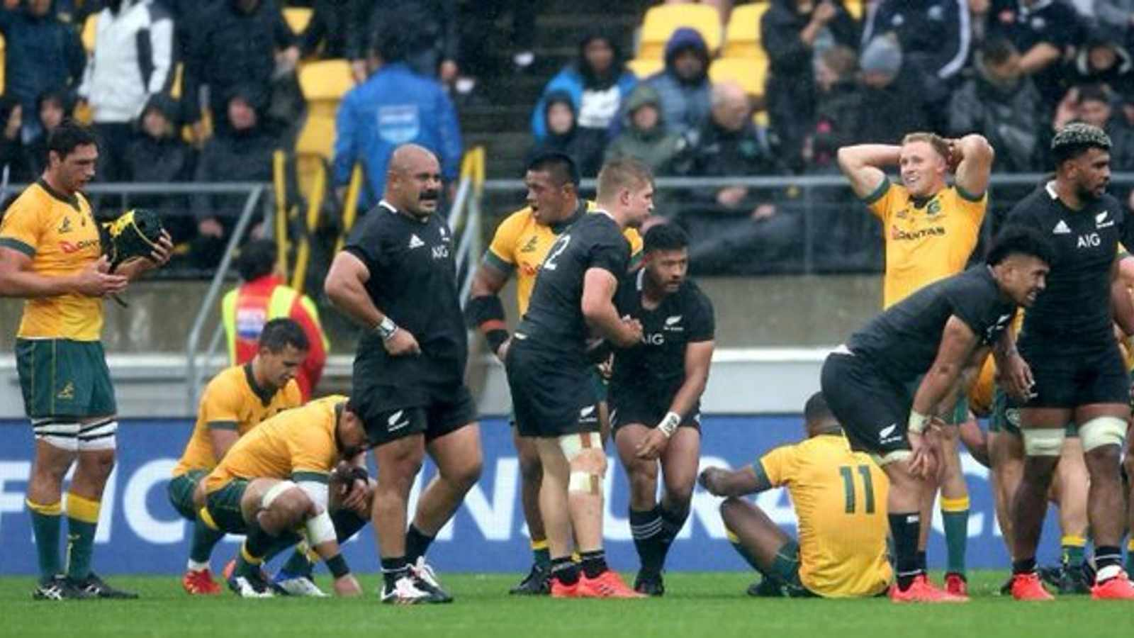Once-feared All Blacks se dae is getel