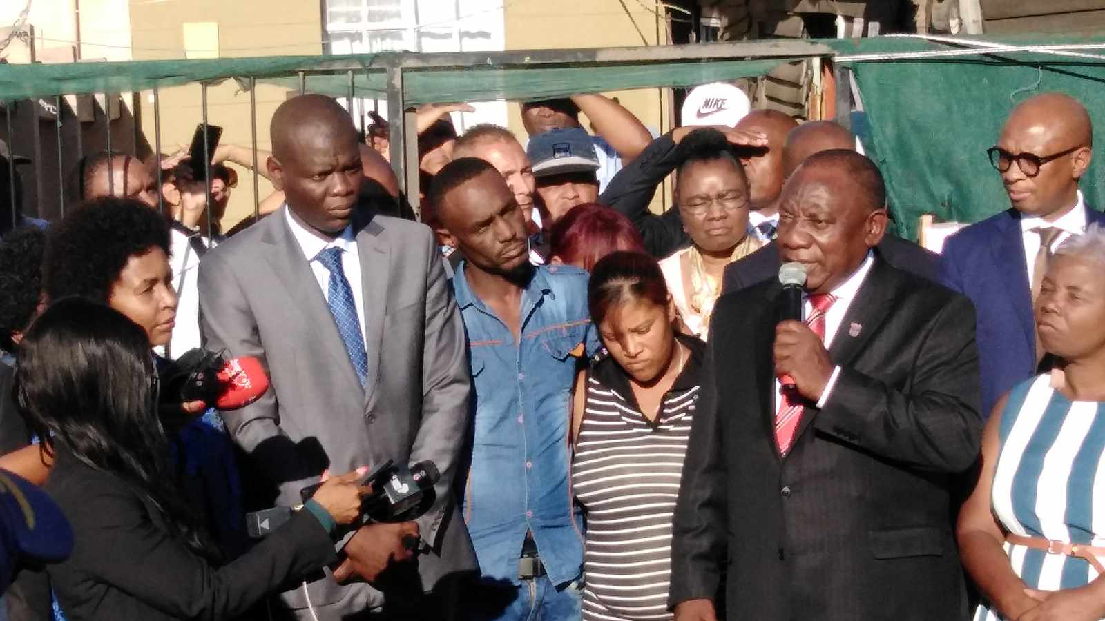WATCH: Cyril sorry for Wendy house