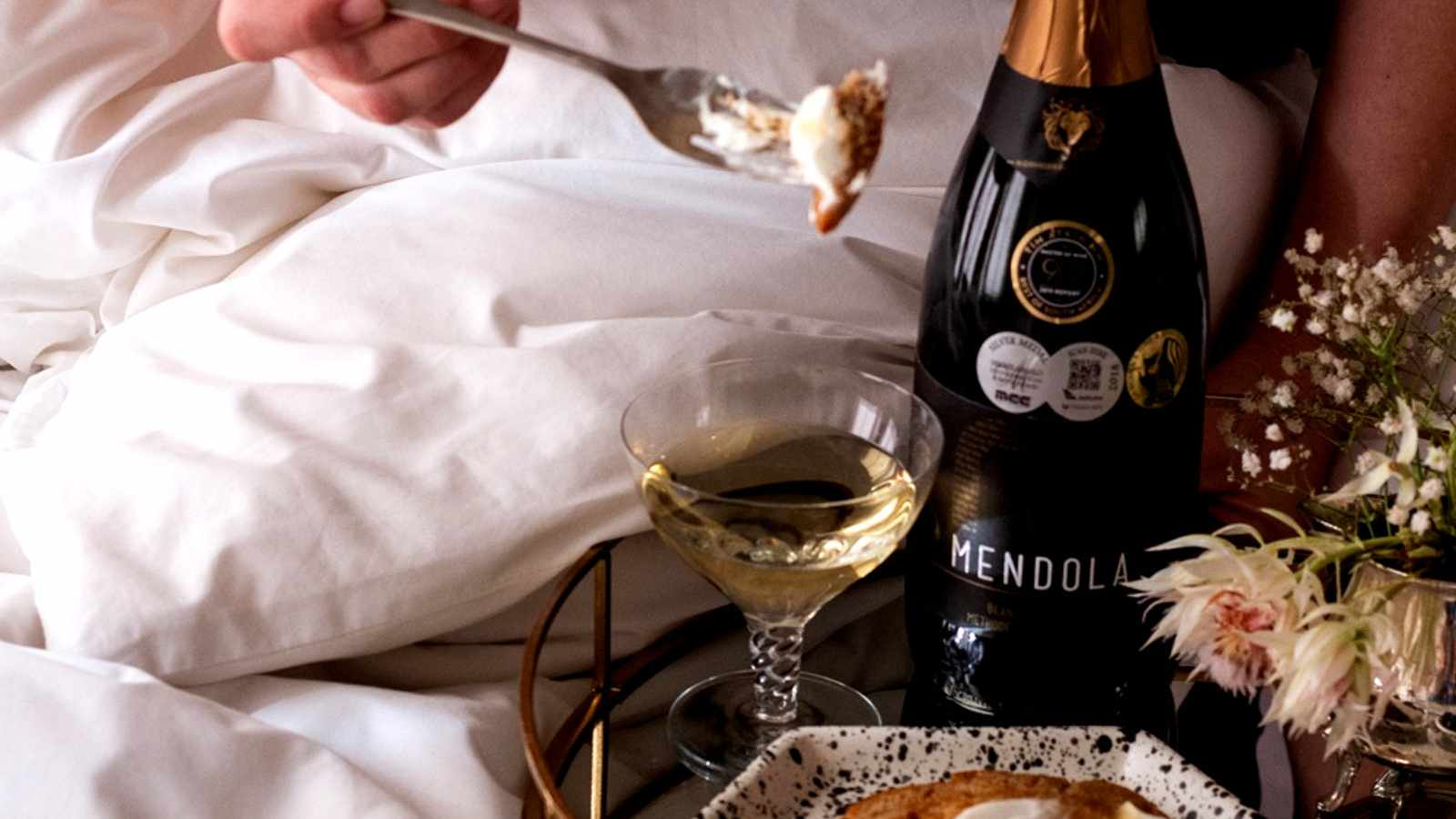 Recipe: A Bubbles in Bed experience with Rialheim & Windfall Wine