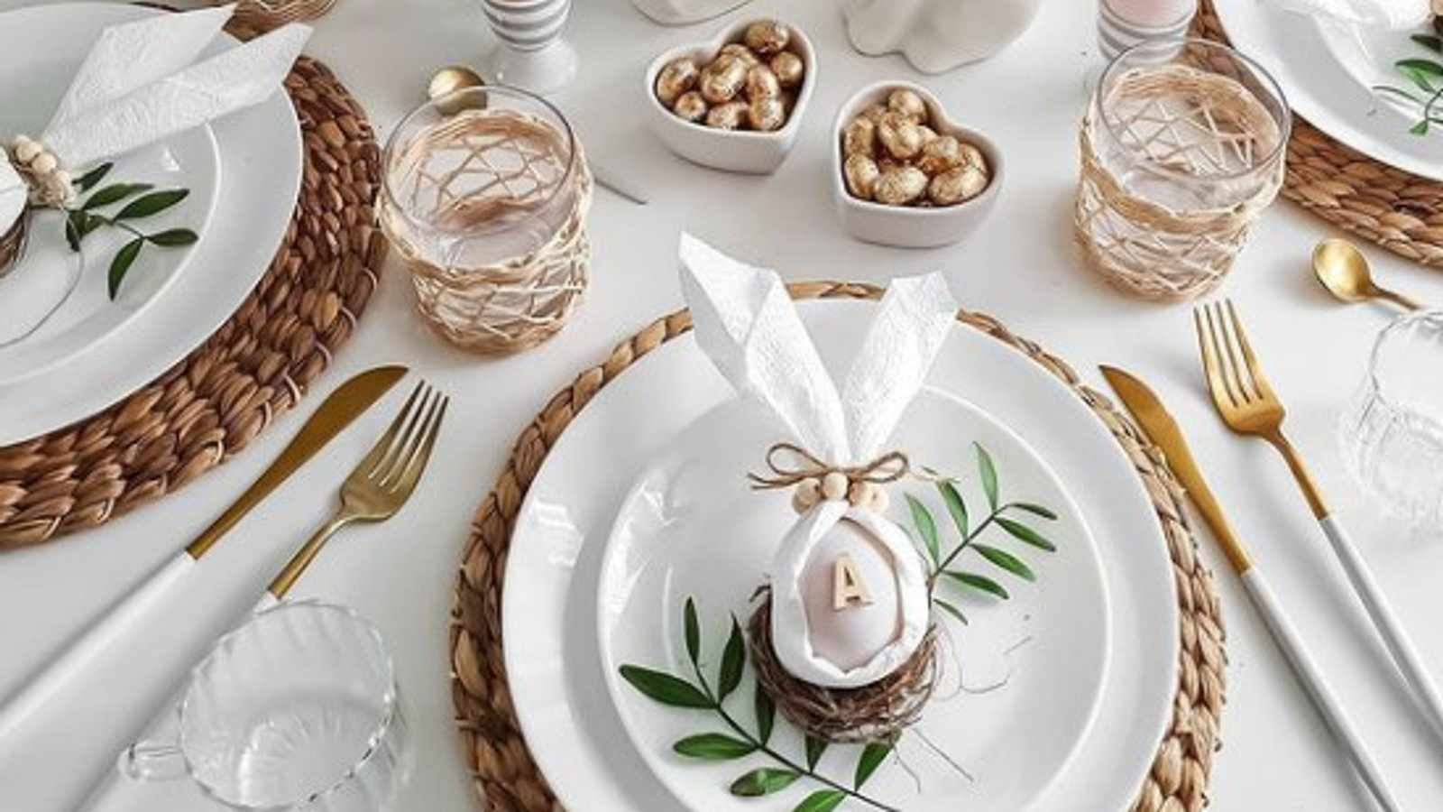 Five DIY Easter Table Décor Ideas