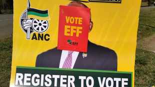 ANC in KZN accuses EFF members of defacing and destroying their election posters