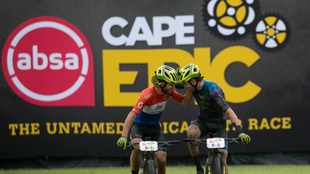 Back-to-back Cape Epic wins for Hans Becking and José Dias after conquering Stage 5