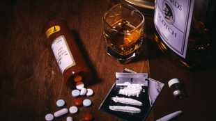 Booze, drugs and rehab... living in the shadow of Covid