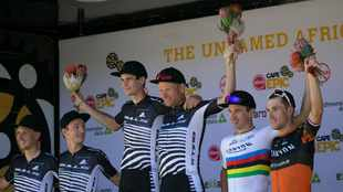 Bulls stampede Cape Epic stage 1, claim first and second places in Ceres