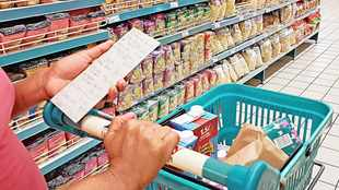 Consumer inflation has edged up slightly to 5% for the month of September