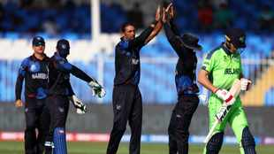David Wiese helps Namibia reach T20 World Cup second round for first time
