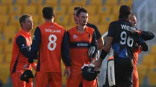 Former Proteas star David Wiese gives Namibia first #T20WorldCup win