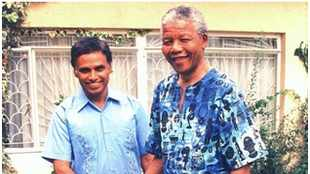 It's very important to celebrate Mandela Day, particularly where we are today, says Ebrahim