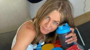 Jennifer Aniston 'giving herself a break' with her diet
