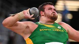 Joy for Kyle Blignaut in shot put as gallant Shaun Maswanganyi just misses out on 200m final