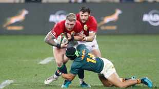 Lions fullback Stuart Hogg is 'annoyed and upset' over accusation of biting against the Springboks