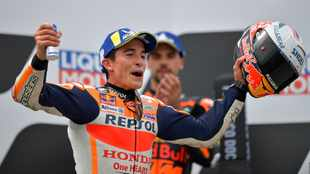 Marc Marquez takes German MotoGP for first win since 2019, SA's Brad Binder finishes in fourth