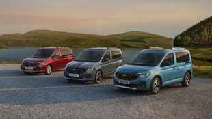 New Ford Tourneo Connect revealed, and it's based on the VW Caddy