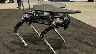 Robotics company attaches a gun to a robot which may become a US Army soldier