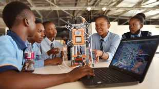 Robotics training programme launched for township pupils