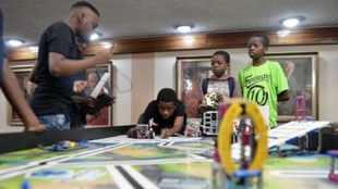 Robotics training programme launched in the country for pupils in townships