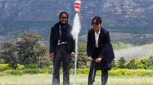 SA pupils ignite World Space Week with rocket launch