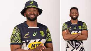 Springboks to wear limited edition 'African imprint' inspired jersey on end-of-year tour