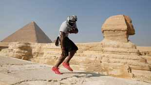 Tourists are once again flocking to Egypt's world-famous pyramids