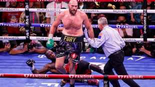 Tyson Fury's name now boldly engraved in boxing history