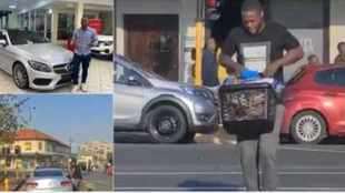 Updated: 'Woolies looter' may forfeit his R500 000 Mercedes-Benz to the State in 90 days