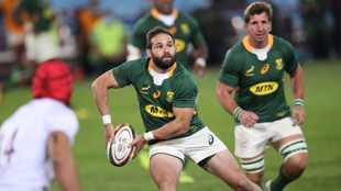 WATCH: Springboks look on from stands as Cobus Reinach scores 'worldie' for Montpellier