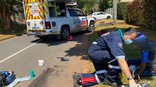 Woman mauled by pair of pitbulls while delivering newspapers in Durban