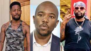 Big brother Mmusi Maimane jumps in on Maphorisa Prince Kaybee 'masters' twar… and Twitter loves it
