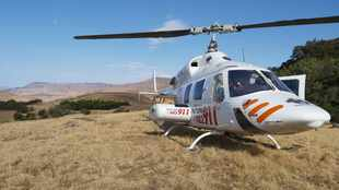 Motorcyclist falls down Okhahlamba Mountain after losing control on rocky terrain