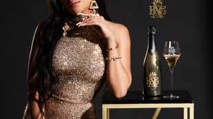 Bonang's new ad for her bubbly screams glamour and luxury