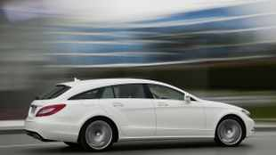 Merc's sporty CLS wagon in pictures