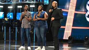 WATCH: Luyolo and Sneziey make it to 'Idols SA' top 2