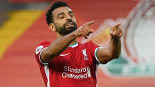 Mohamed Salah hits hat-trick as Liverpool outgun impressive Leeds