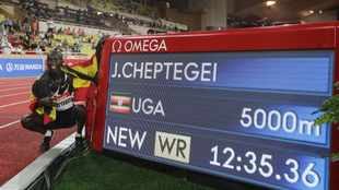 Performance boost through lockdown drives Cheptegei's world record