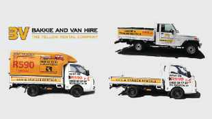 Want to hire a van or bakkie? The Yellow Rental Company will get you moving