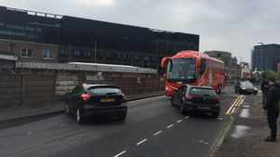 Liverpool bus blocked en route to Old Trafford ahead of Manchester United clash - reports