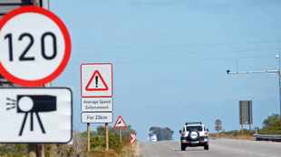 Merc driver nabbed for doing 215km/h in a 120km zone