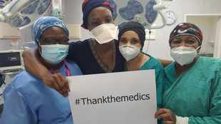 Doctor creates tangible way to thank the medics on Covid-19 frontline