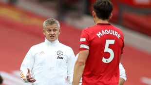 'Top human being' Harry Maguire to remain Man United captain, says Ole Gunnar Solskjaer