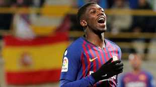 Dembele has to fight for Barca starting role, says Koeman