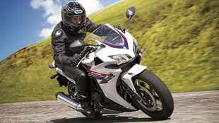 Honda CBR500R a sporty mid-sized twin