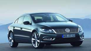Perked up Volkswagen CC in pictures